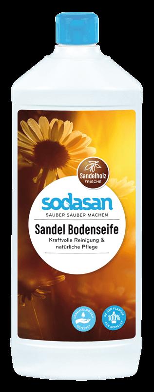 Sodasan, Ekologiczne Mydło do podłóg drewnianych, Drzewo sandałowe 1L