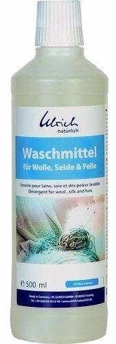 Ulrich Natürlich Płyn do prania wełny, jedwabiu i futer z lanoliną 500 ml