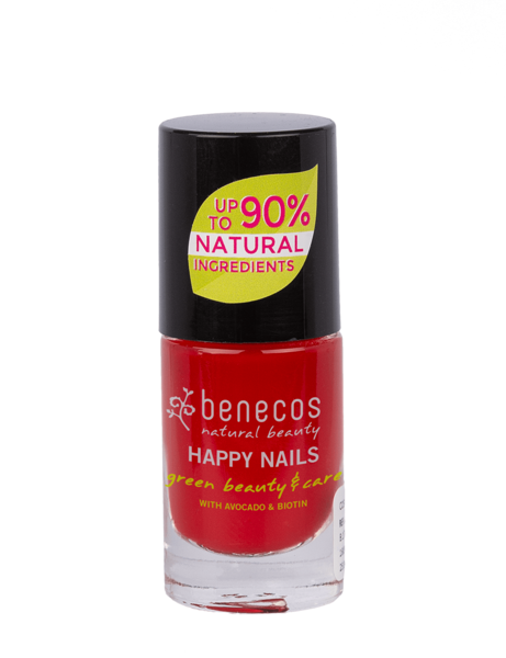 Benecos Lakier do paznokci VINTAGE RED 5 ml