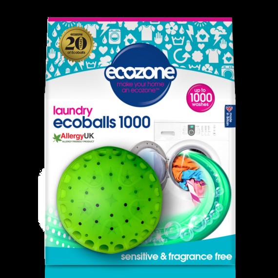 ECOZONE Ecoballs kule piorące na 1000 prań SENSITIVE bezzapachowe.