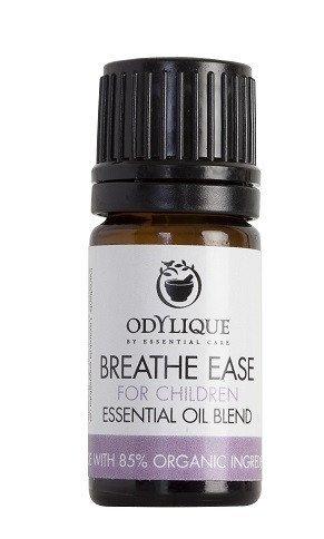 Odylique by Essential Care organiczna mieszanka olejków eterycznych ułatwiająca oddychanie dla dzieci, 5 ml