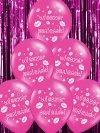 Balony 14 różowy wieczór panieński 1 szt