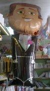 Balon foliowy 28x48cali Pan Młody