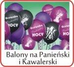 Balony na panieński, kawalerski