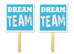 Tabliczki do fotobudek DREAM TEAM