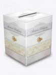 Pudełko ślubne na koperty, skarbonka na pieniążki