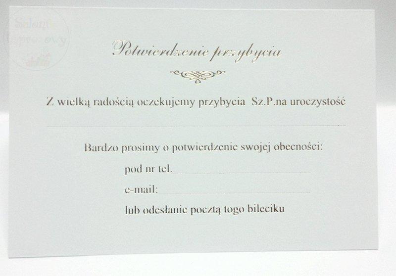Kieliszki ślubne Zaproszenie Na 25 Rocznicę ślubu 1 Szt Sklep ślubny