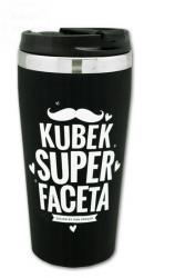 Kubek termiczny BLACK   Kubek Super Faceta 450ml