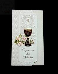 Zaproszenie na I Komunię świętą dla Dziadka 1szt