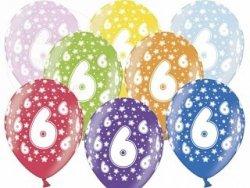 Balony 14 cali mix kolor metalik 6