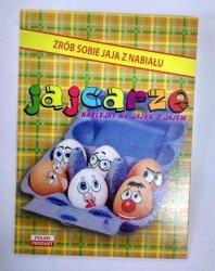 Naklejki na jajka wielkanocne -śmieszne minki