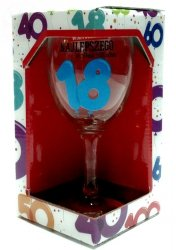 Kieliszek do wina Baloniki 18 Lat