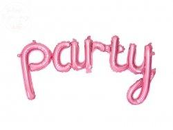 Balon foliowy Party 80x40 cm różowy