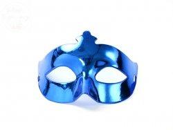 Maska Party  Niebieska  1 szt