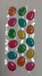 Naklejki Kolorowe Jajeczka Wielkanocne
