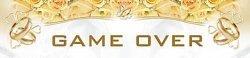 Tablica rejestracyjna ślubna Game Over 1szt TT65