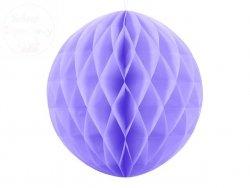 Kula bibułowa liliowy 40 cm
