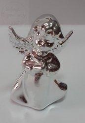 Aniołek figurka srebrny