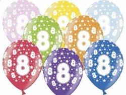 Balony 14 cali mix kolor metalik 8