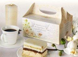 Pudełko weselne ozdobne na ciasto 1szt PUDS