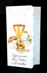 Zaproszenie na I Komunię Świętą dla dziadków