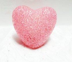 Serce świecące różówe 1szt