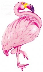 Balon FLAMING różowy 70x95 cm
