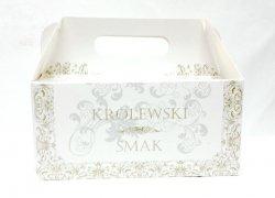Pudełko na ciasto  Królewski Smak 190x140x90cm