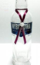 Zawieszki na alkohol śliwkowo-białe 10 szt