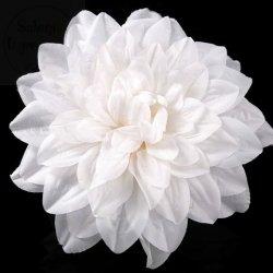 Kwiat Sztuczny Dalia biała 1 szt