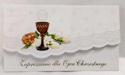 Zaproszenie Komunijne dla Ojca Chrzestnego