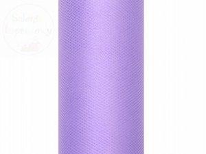 Tiul gładki fioletowy 0,3 x9m 1szt