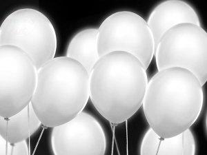 Balony led białe 1szt