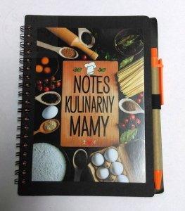 Notatnik kulinarny dla Mamy zdługopisem