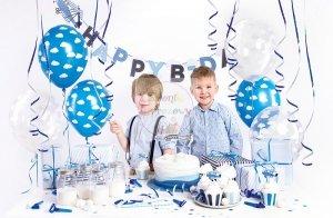Zestaw dekoracyjny urodzinowy - Samolocik