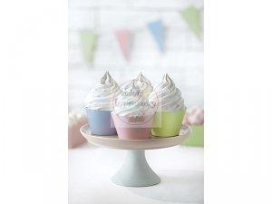 Papilotki na muffinki pastelowe mix kolor 10 szt