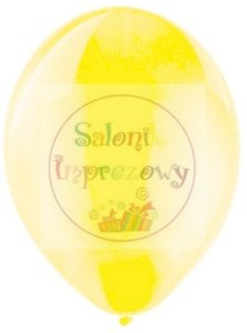 Balony 11cali pastel żółte 1szt