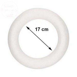 Wianek styropianowy 17cm 1szt