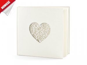 Księga gości 20,5 x 20,5 cm 60 kartek