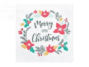 Serwetki Merry Little Christmas 33x33cm