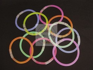 Bransoletka świecąca Swietlik 1 szt mix kolor