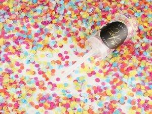Push pop konfetti mix kolor 1szt