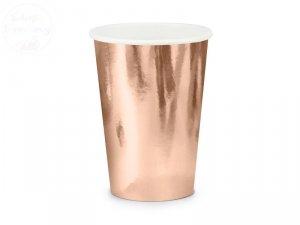 Kubeczki party różowe złoto 220 ml - 6 szt