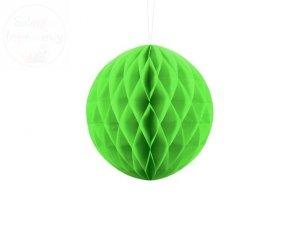 Kula bibułowa zielone jabłuszko 20 cm