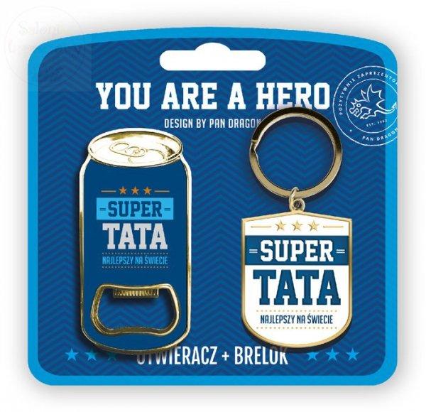 Otwieracz + brelok do kluczy dla SUPER TATY