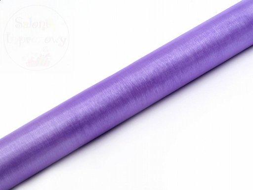 Organza lilowa rolka 0,36x9m ORP-004