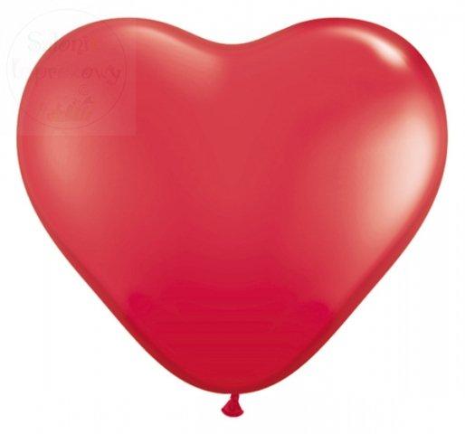 Balony serca czerwone duże 16 cali 1 szt 092S