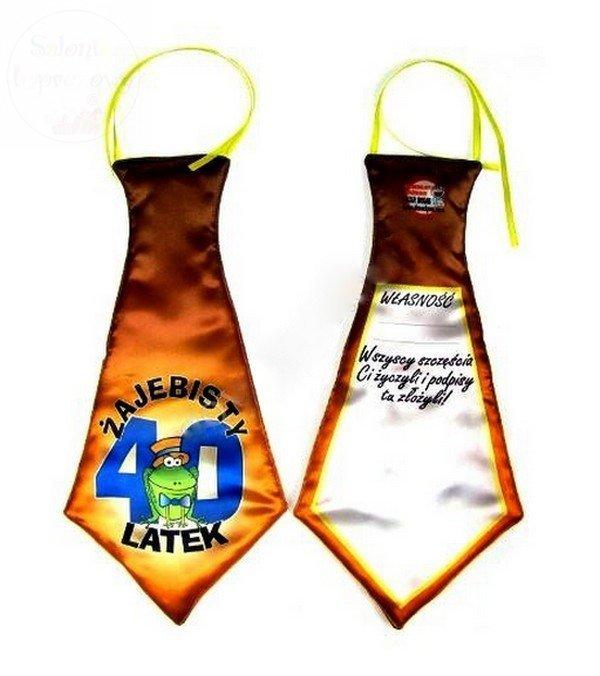 Krawat Mega Żajebisty 40 latek