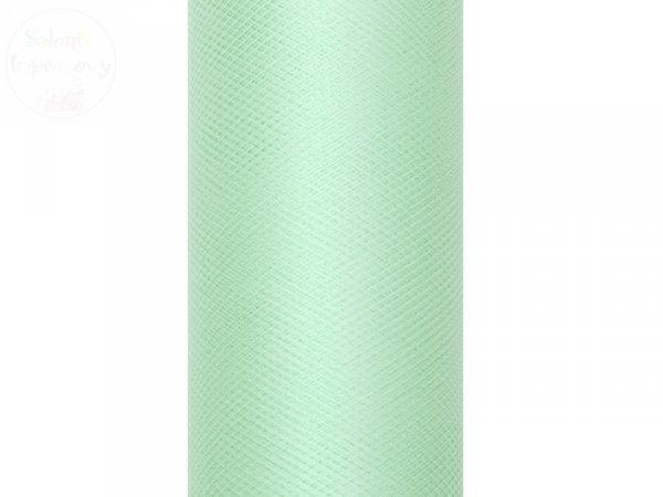 Tiul na szpulce 0,15x9 m mięta