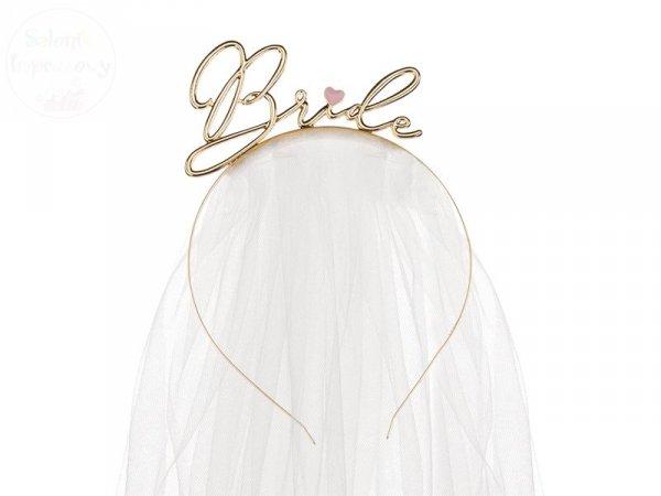 Opaska Bride złota, wieczór panieński